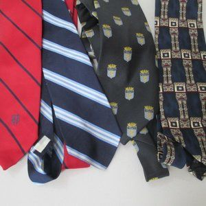 Other - VTG Neck Tie Lot Brooks Brothers Bill Blass & more